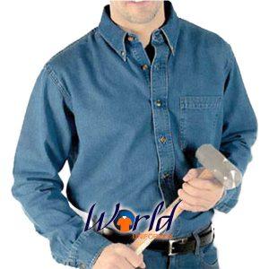 Camisa-De-Mezclilla