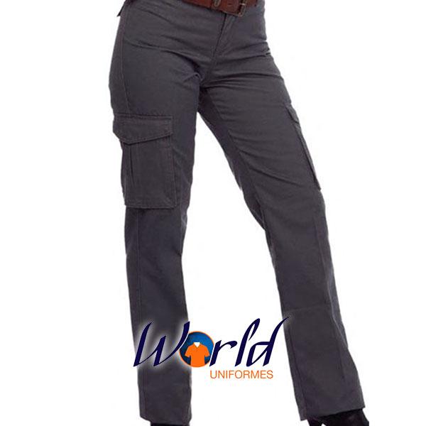 Pantalon Cargo Ejecutivo Mujer 1 World Uniformes